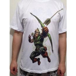 Camiseta Arqueiro verde Green Arrow