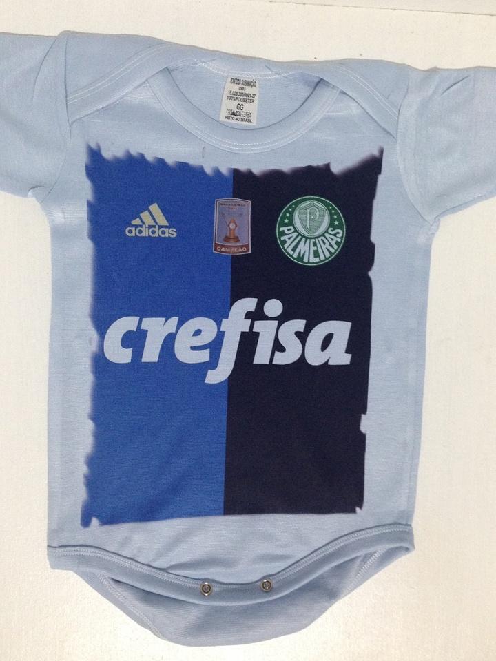 Body Palmeiras camisa 3 2016 goleiro Prass pach campeão brasileiro ... 2c41463967c60