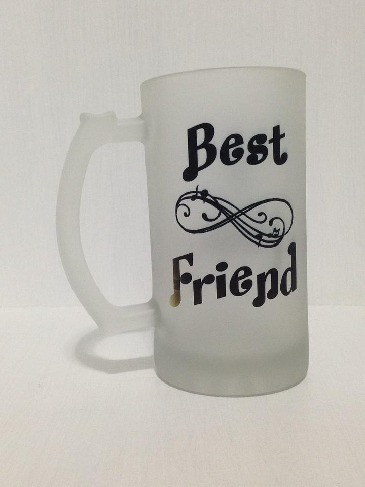 2e0ed39325 Caneca Chopp  Cerveja Best Friend Infinity personalizado com nome 475ml