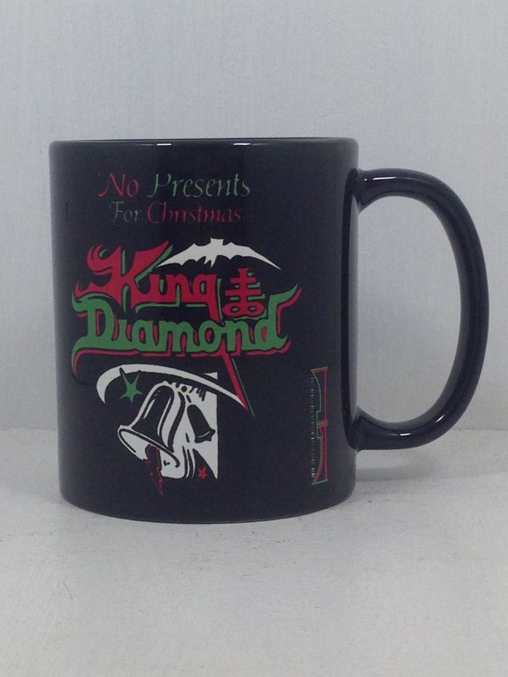 Caneca Cerâmica Especial Preta King Diamond - No Presents For ...