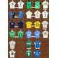 Chaveiros Camisas Palmeiras vários goleiro linha 1993 1999 2010 2016
