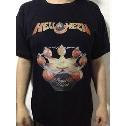 Camiseta Helloween Pumpkins United Tour 2017 18