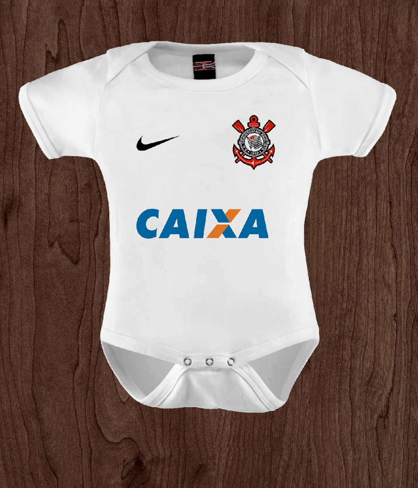 Body camiseta Infantil Corinthians - Horror Empório 375fbe366d2f3