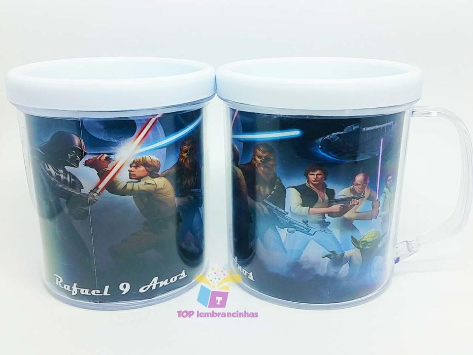 Caneca de acrílico Star Wars modelo 2 - Lembrancinha