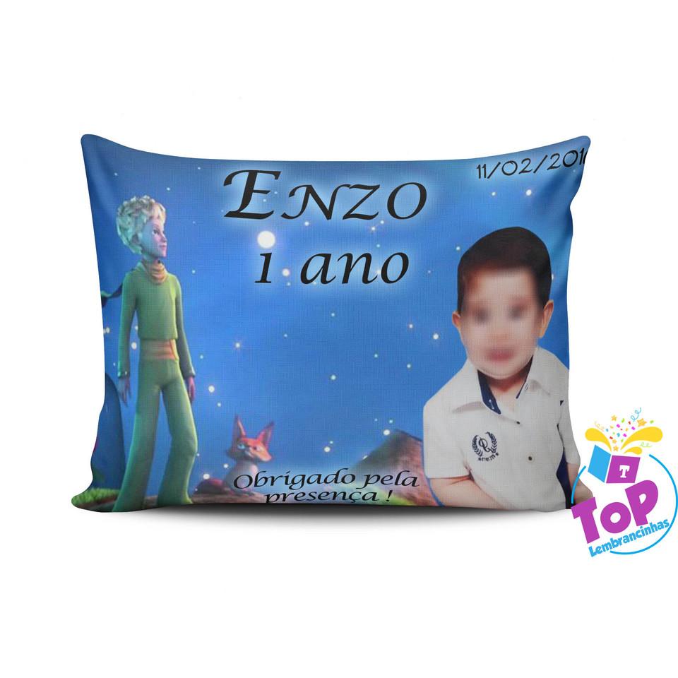 Lembrancinha Pequeno Príncipe - Almofada personalizada 20x30cm Modelo 2