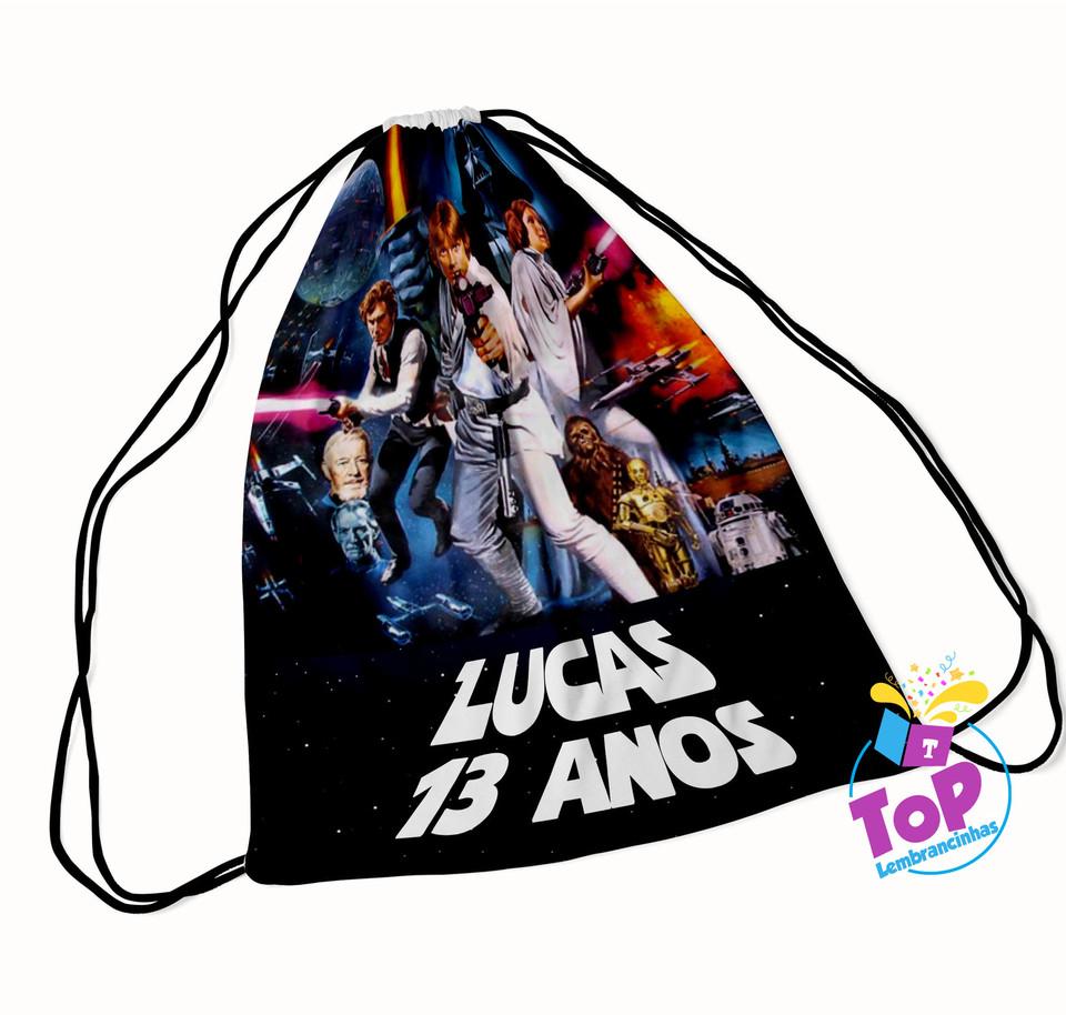 Mochila saco Star Wars 20x30cm - Modelo 2