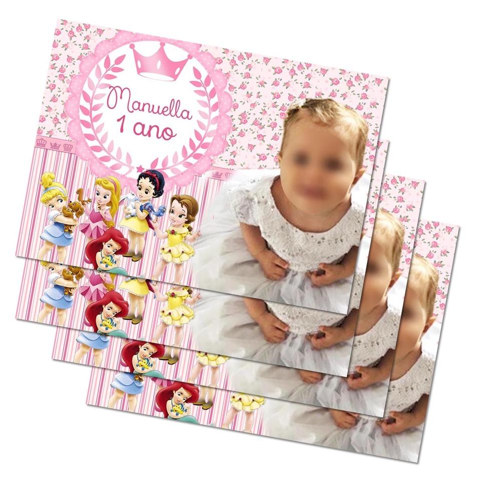 Lembrancinha Princesas Disney - Imã de geladeira 7x5cm