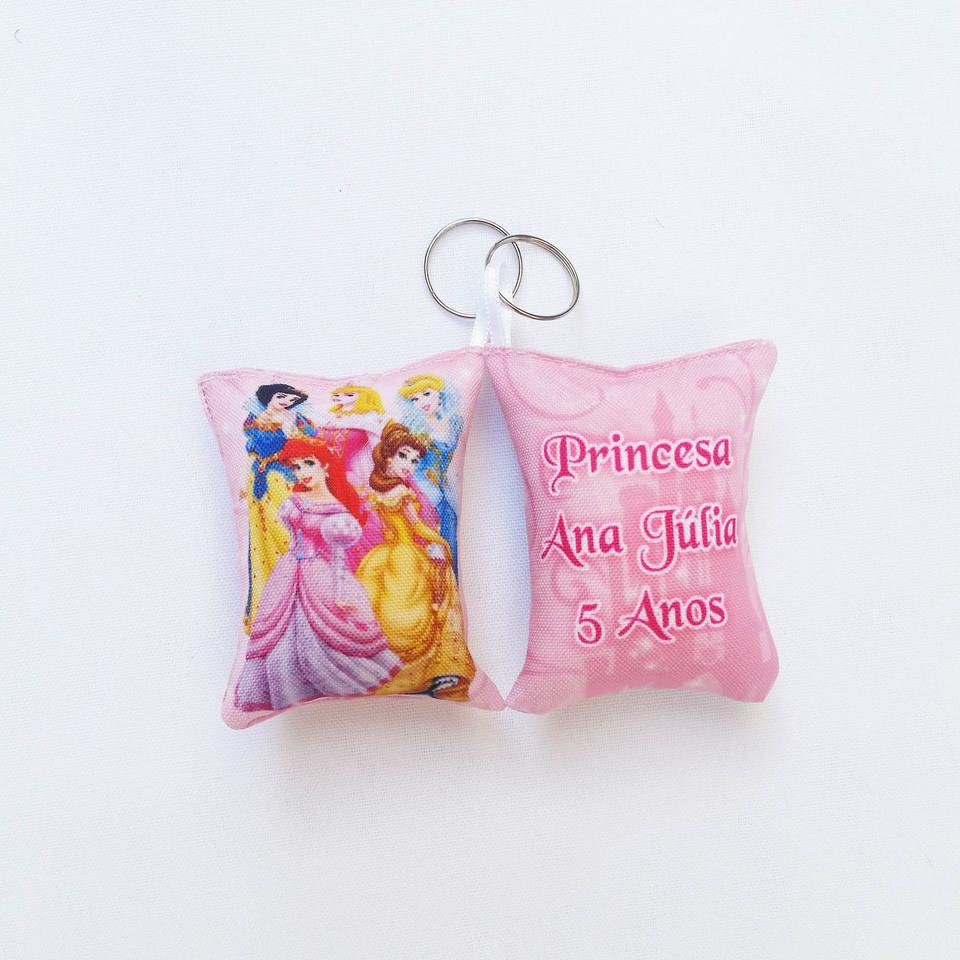 Lembrancinha Princesas Disney - Almochaveiro personalizado 7x5cm