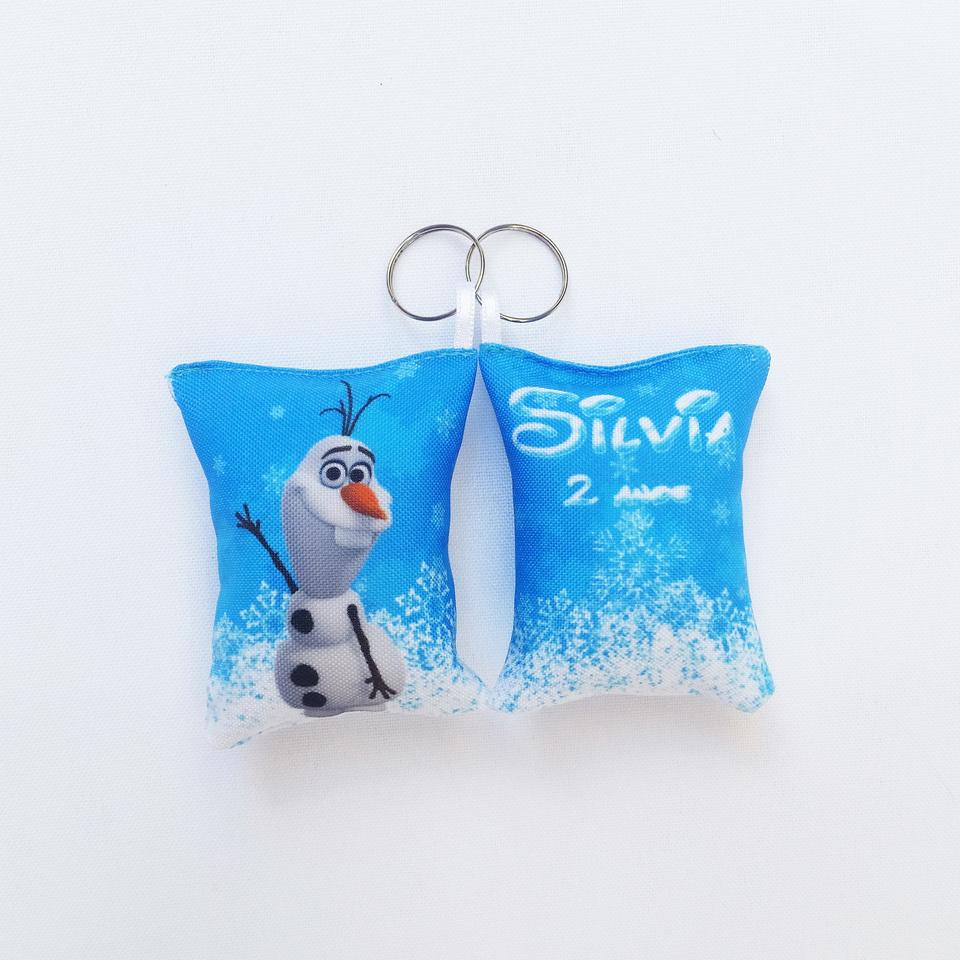 Lembrancinha Frozen Olaf - Almochaveiro personalizado 7x5cm