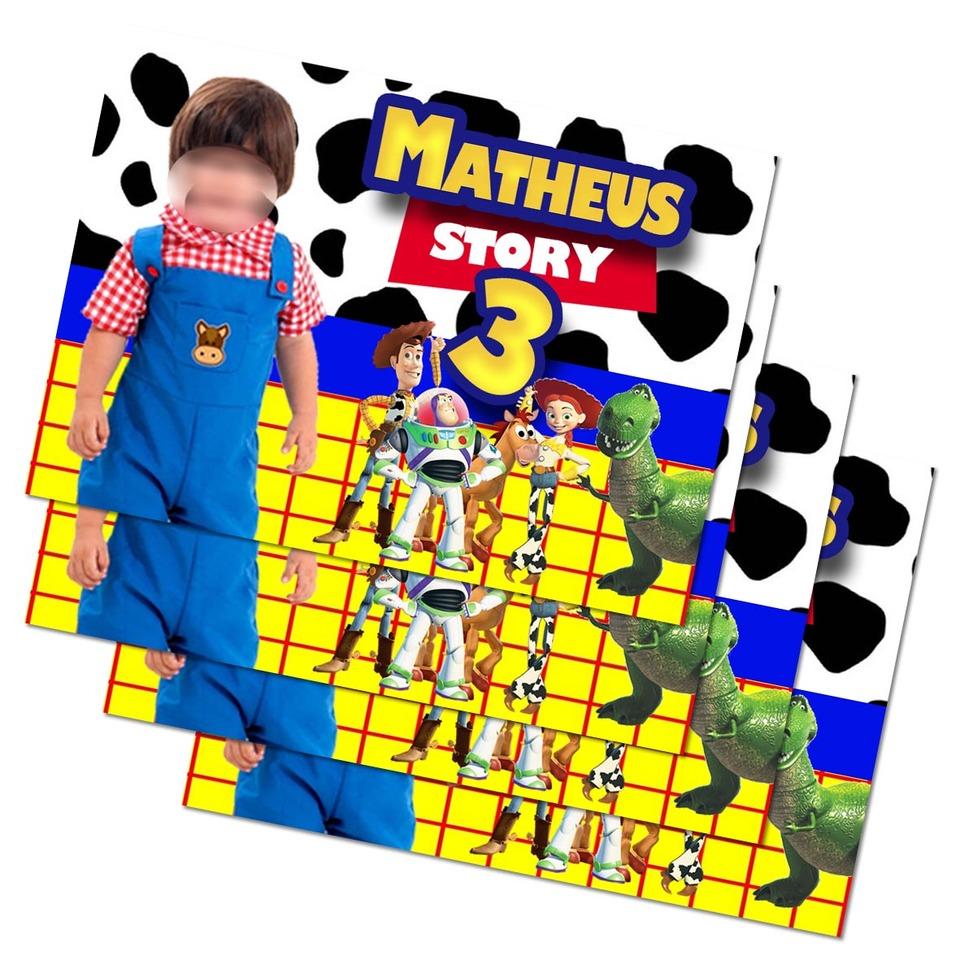 Lembrancinha Toy Story - Imã de geladeira 7x5cm