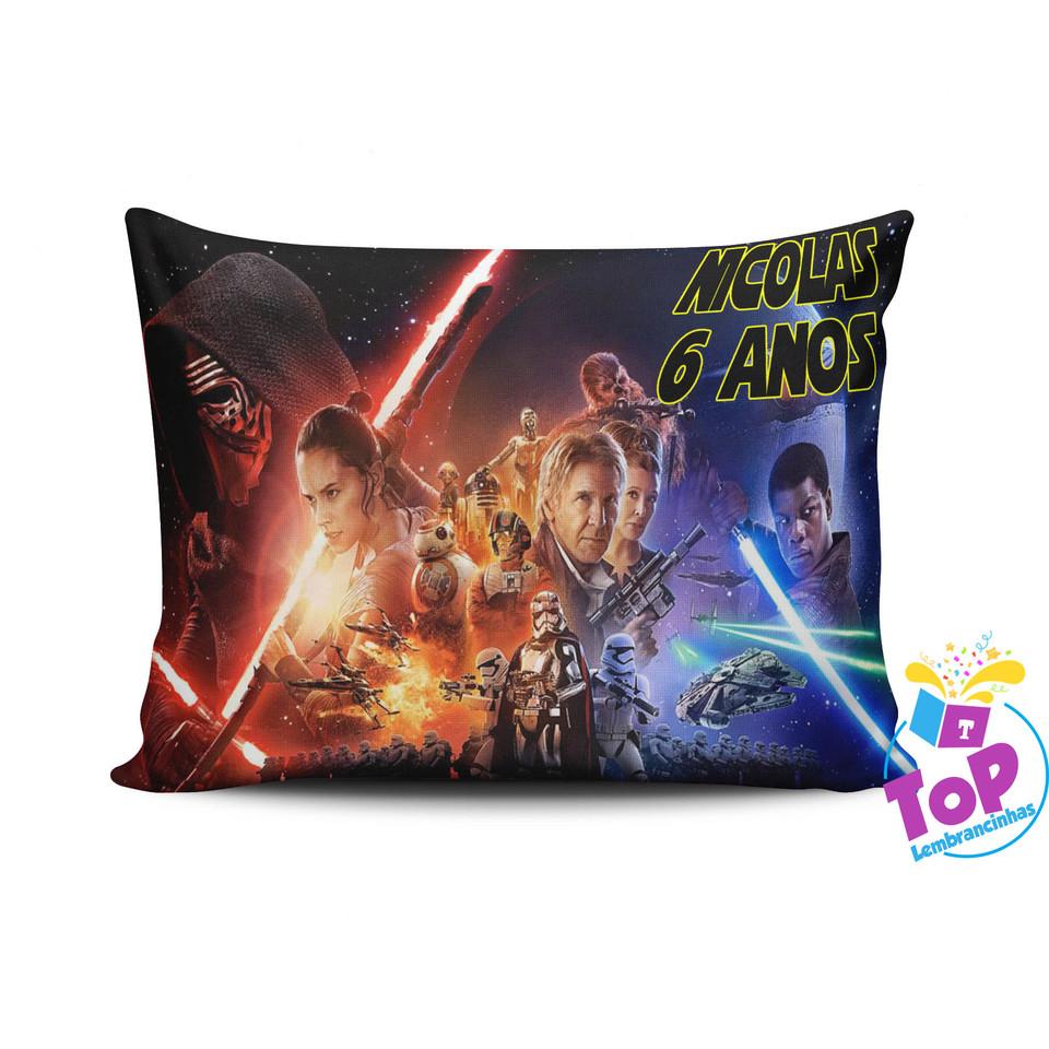 Almofada personalizada Star Wars 15x20cm - Modelo 1
