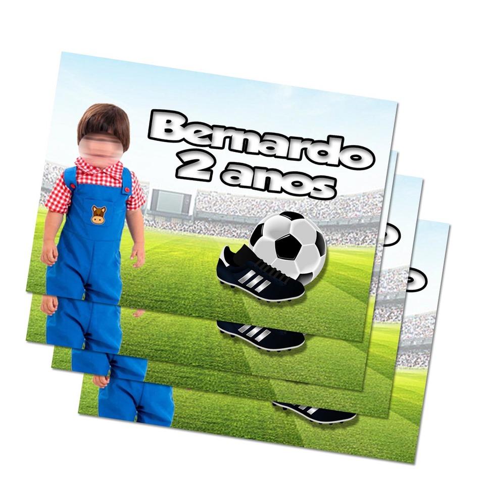 Lembrancinha Futebol - Imã de geladeira 7x5cm