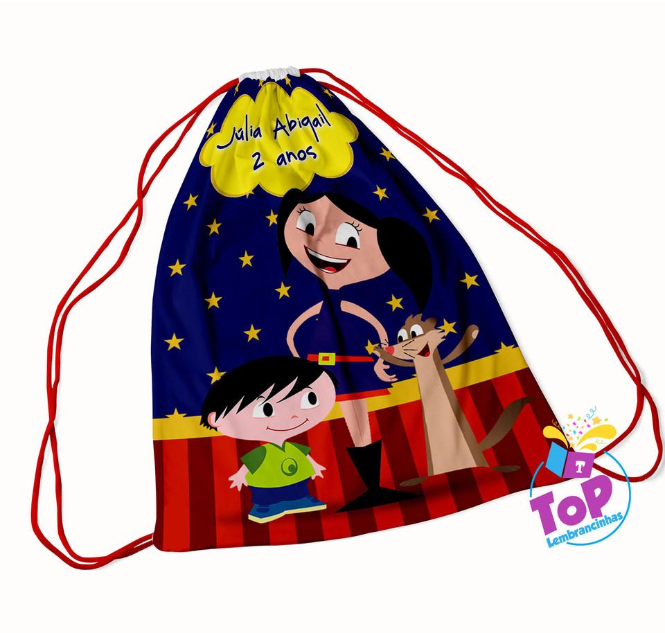 Mochila saco Show da Luna 20x30cm - Modelo 2