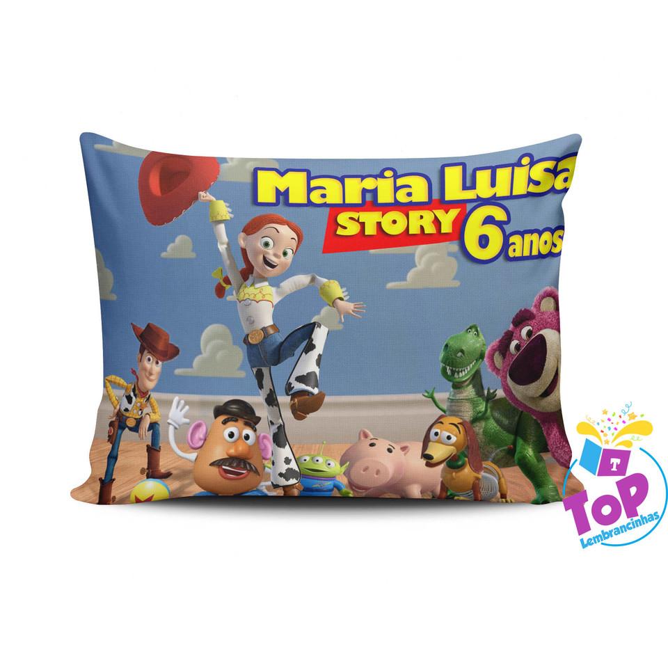 Lembrancinha Toy Story - Almofada personalizada 20x30cm Modelo 2