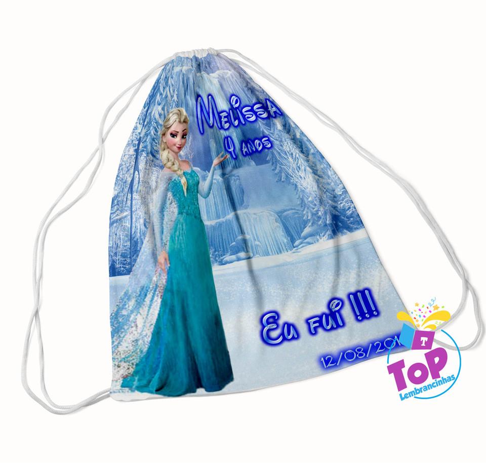 Mochila saco Frozen 20x30cm - Modelo 2