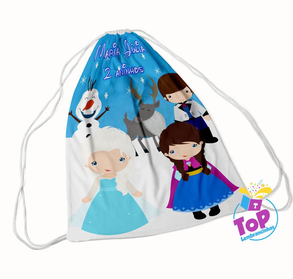 Mochila saco Frozen Baby 20x30cm - Modelo 1