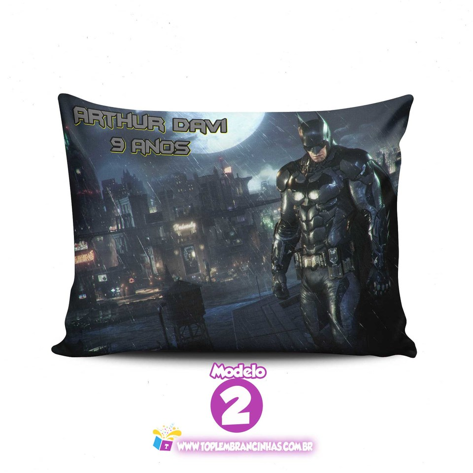 Almofada Batman 20x30 cm - Lembrancinha do Batman