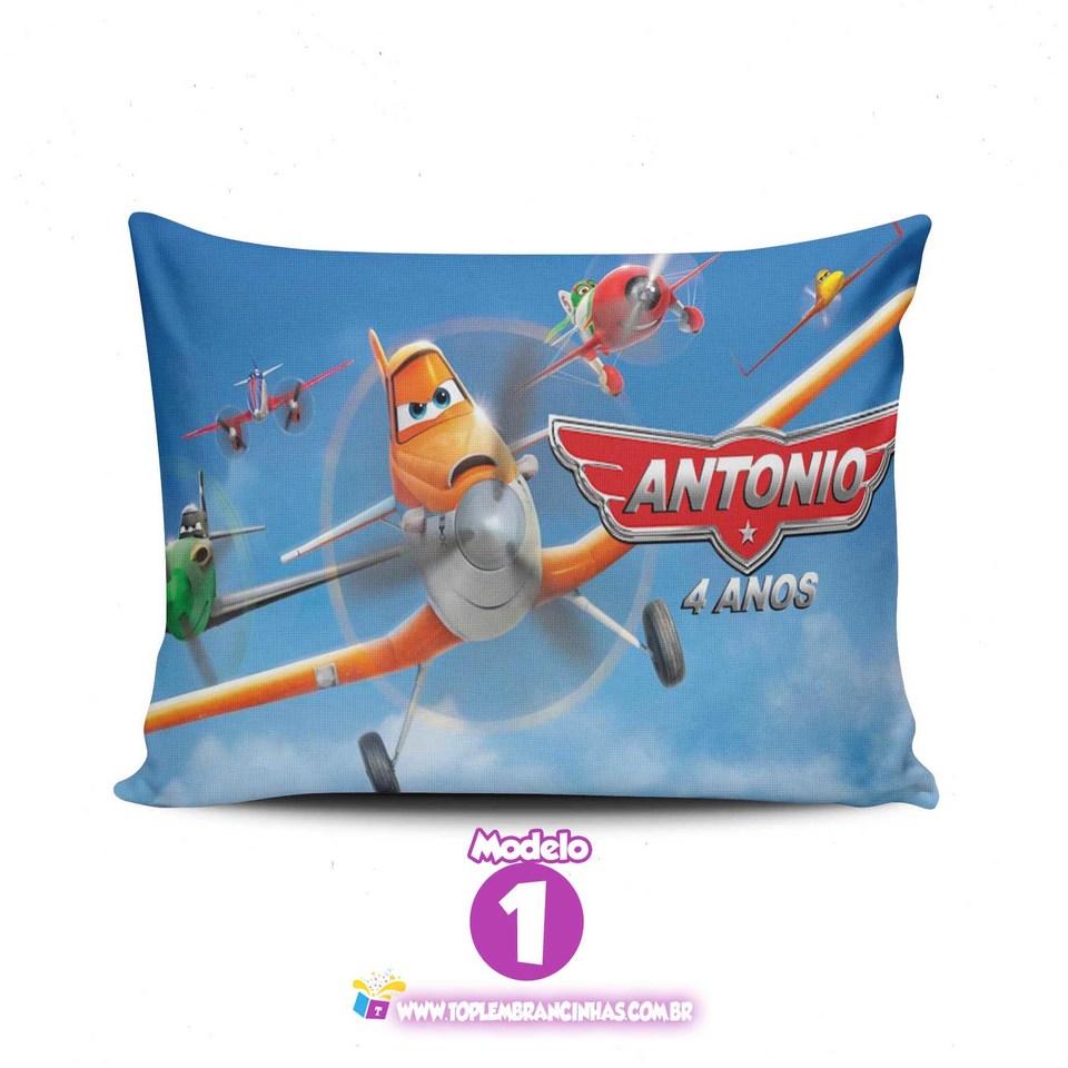 Lembrancinha Aviões Disney - Almofada personalizada 15x20cm