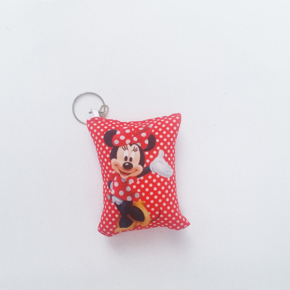 Almochaveiro personalizado Minnie Vermelha 7x5cm