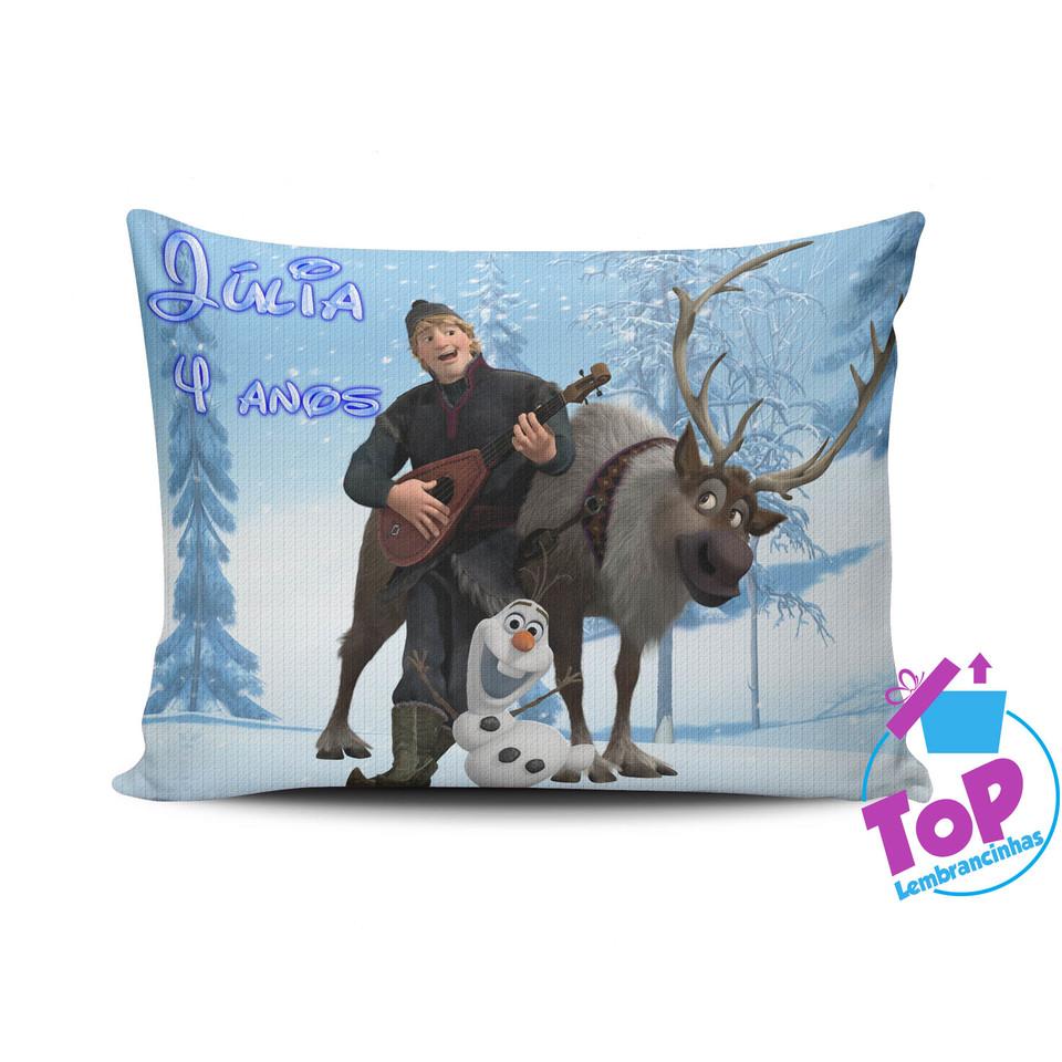 Lembrancinha Frozen - Almofada personalizada 15x20cm