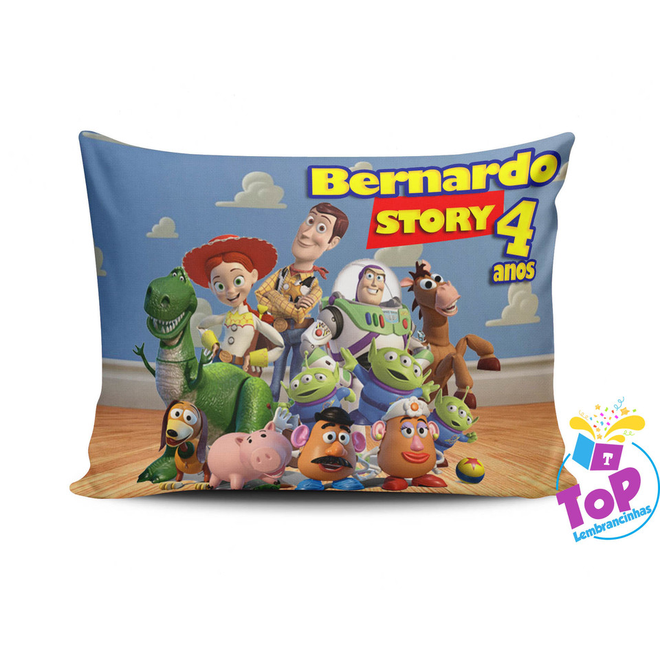 Lembrancinha Toy Story - Almofada personalizada 15x20cm Modelo 1
