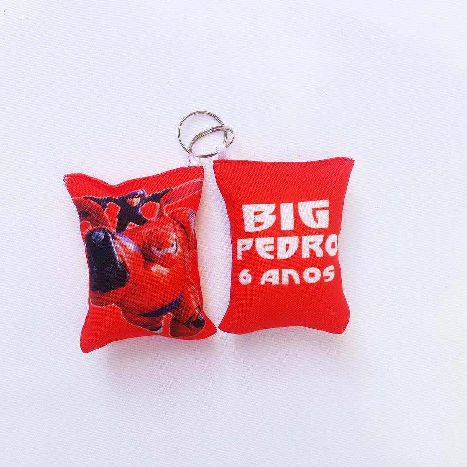 Lembrancinha Big Hero - Almochaveiro personalizado 7x5cm