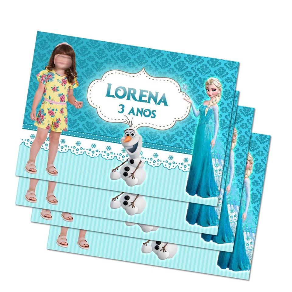 Lembrancinha Frozen - Imã de geladeira 7x5cm