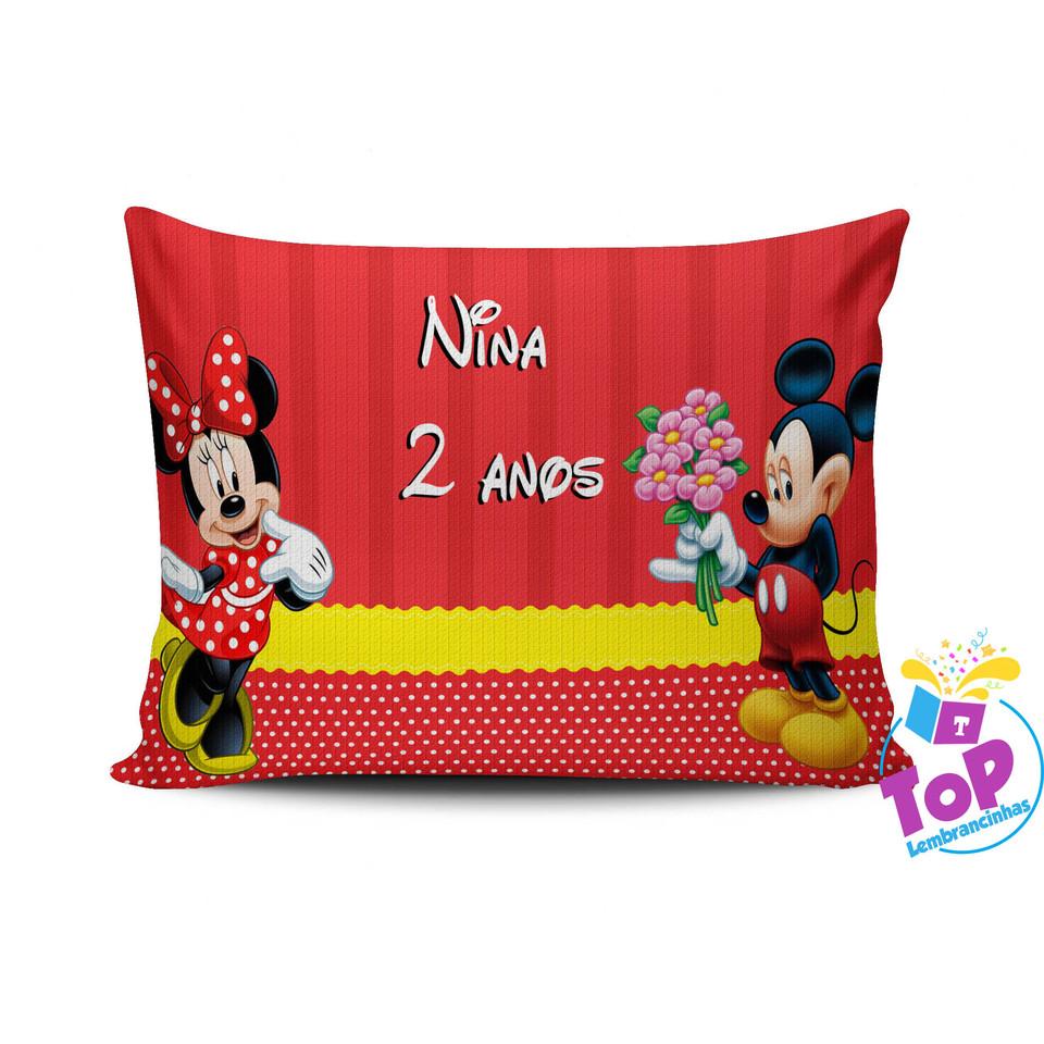 Almofada Mickey e Minnie 30x40cm - Modelo 1