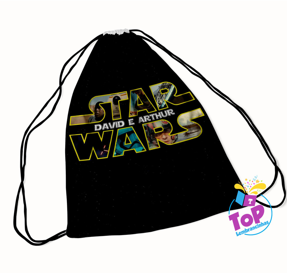 Mochila saco Star Wars 20x30cm - Modelo 1