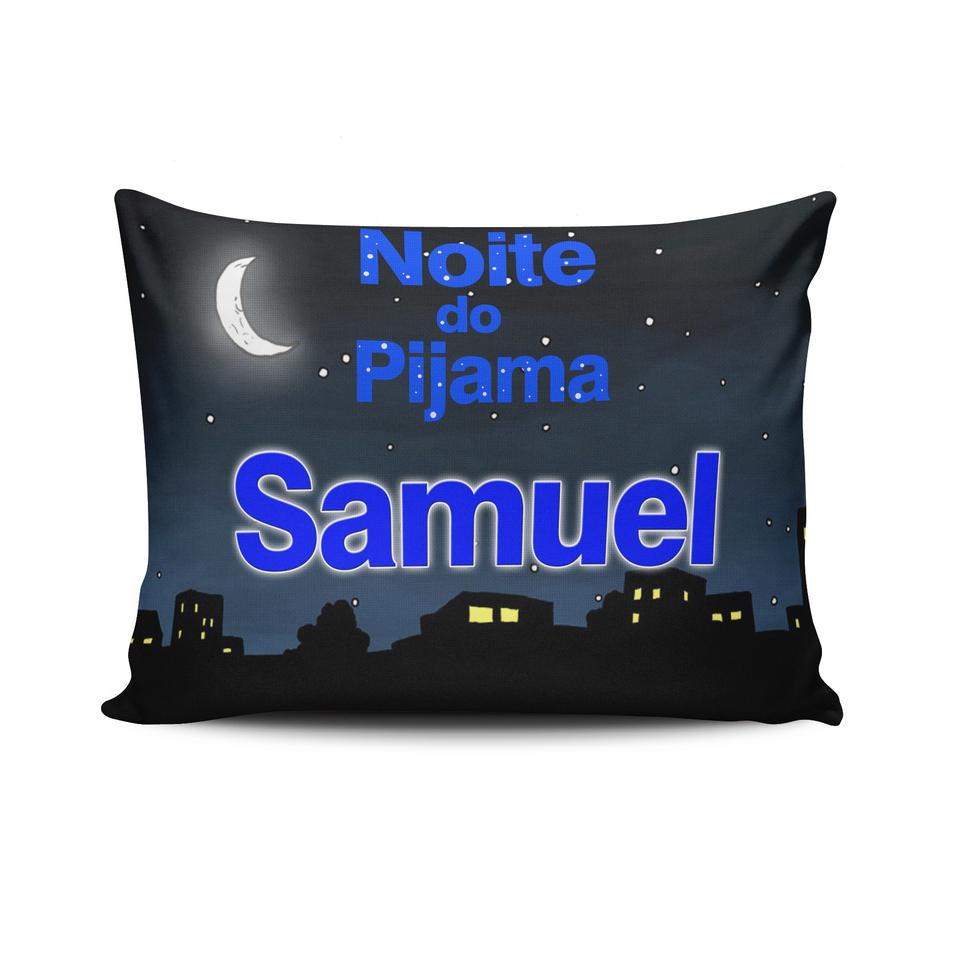 Almofada Noite do Pijama 15x20