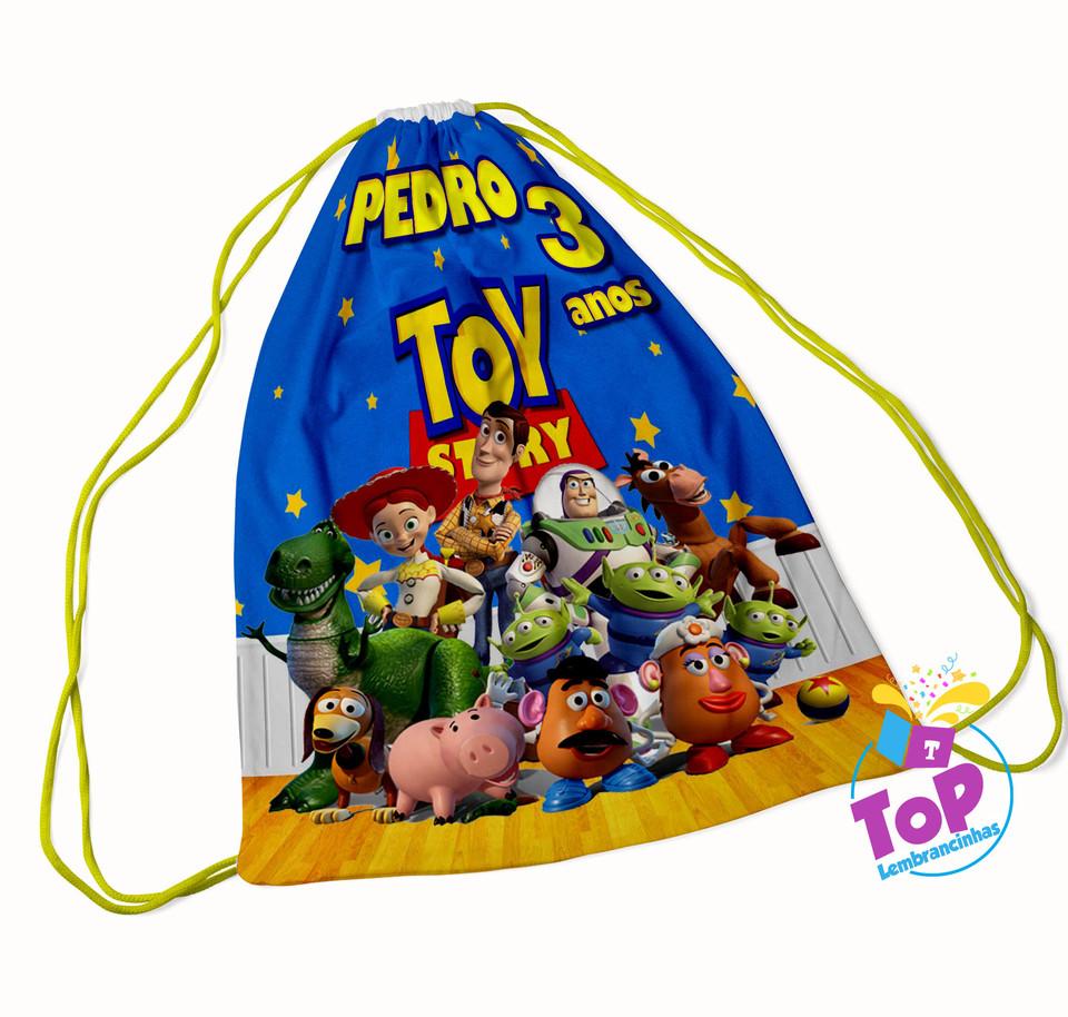Mochila saco Toy Story 20x30cm - Modelo 1
