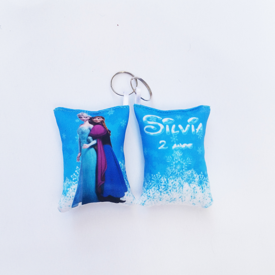 Lembrancinha Frozen - Almochaveiro personalizado 7x5cm Modelo 1