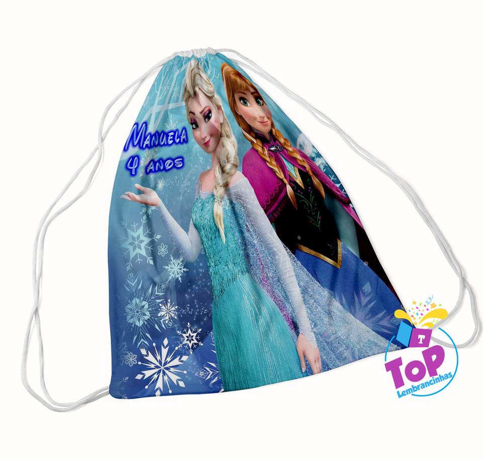 Mochila saco Frozen 20x30cm - Modelo 1