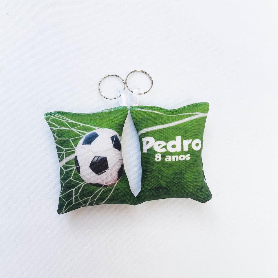 Lembrancinha Futebol - Almochaveiro personalizado 7x5cm