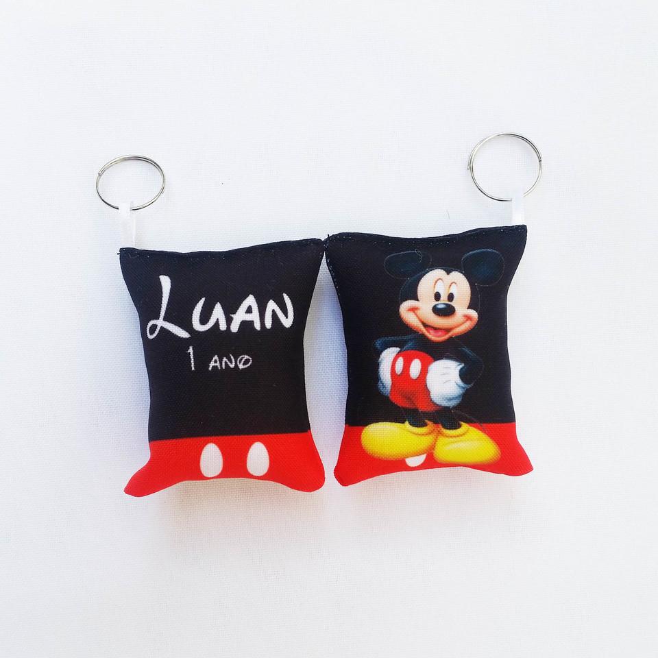 Almochaveiro personalizado Mickey Mouse 7x5cm