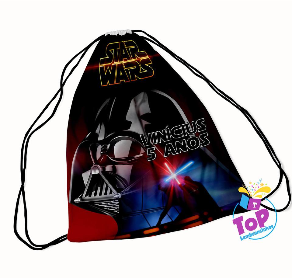 Mochila saco Star Wars 20x30cm - Modelo 3