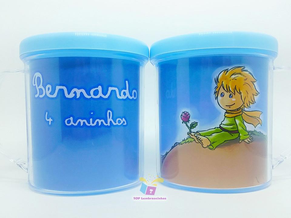 Caneca acrílica Pequeno Príncipe - Lembrancinha