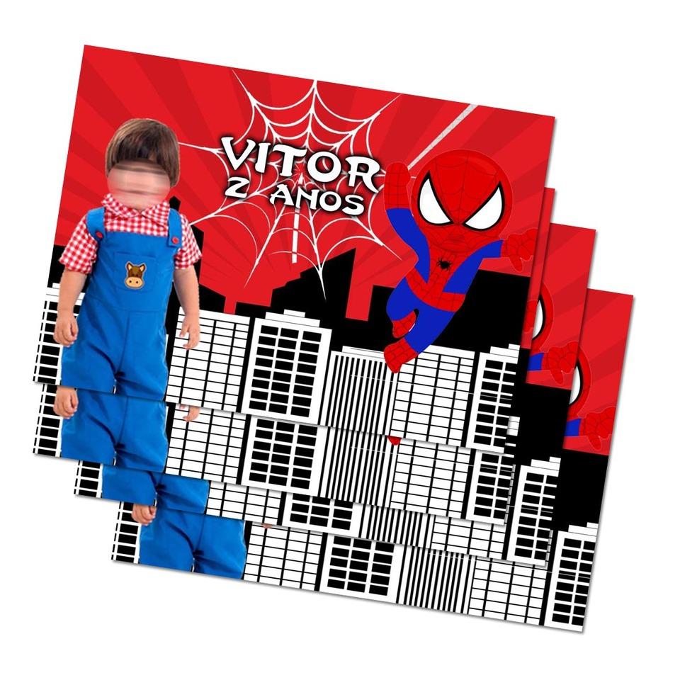 Lembrancinha Homem Aranha - Imã de geladeira 7x5cm