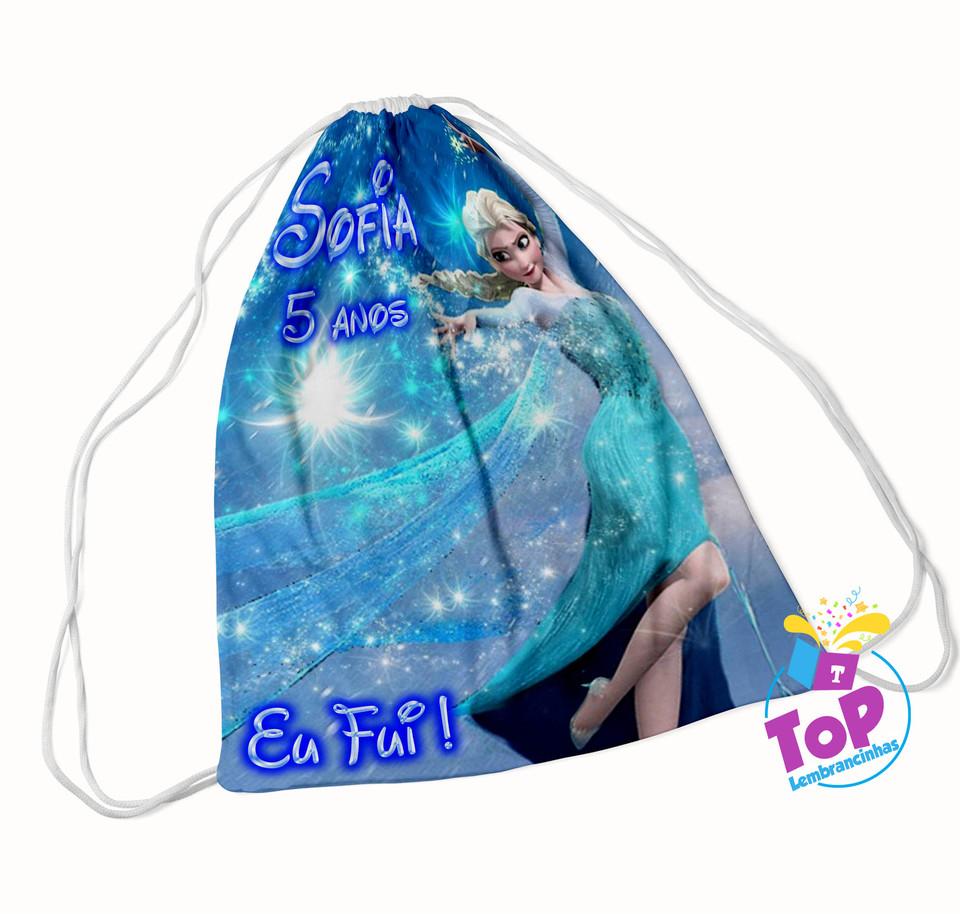 Mochila saco Frozen 20x30cm - Modelo 3