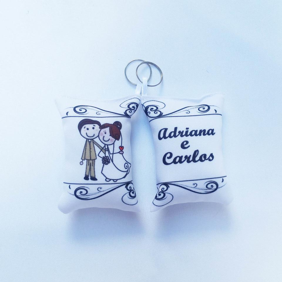 Lembrancinha Casamento - Almochaveiro personalizado 7x5cm