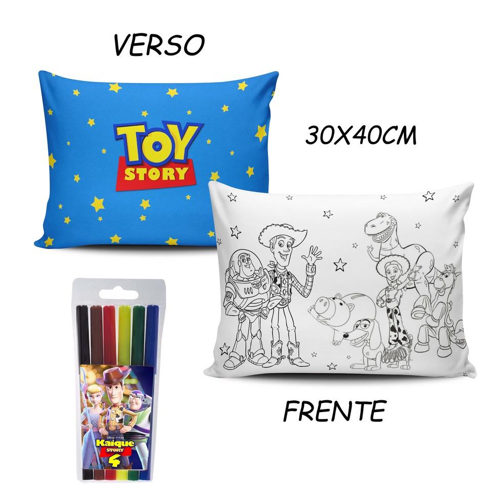 Lembrancinha Toy Story - Almofada Pinte e Lave 30x40cm
