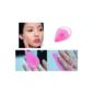 Esponja de Silicone para Limpeza Facial Rosa