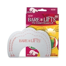 Bare Lifts - Sutiã Adesivo p/ Levantar os Seios 5 Pares