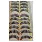caixa com 10 pares de cílios postiços modelo 2