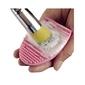Pacote com 4 Brushegg - Esponja de Silicone para Limpeza de Pincéis