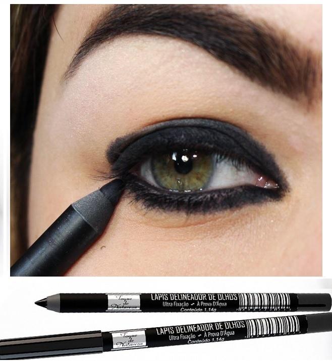 Favoritos Lápis Delineador para Olhos Toque de Natureza - Atacado de Maquiagem CX02