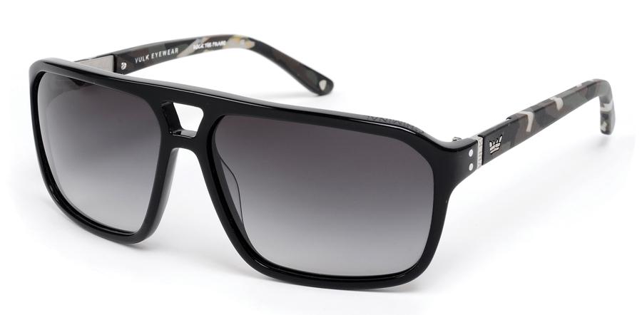 4905a0cbbfada Óculos Vulk Eyewear Criminal C4 - Preto Camuflado - Gamboa Surf Skate