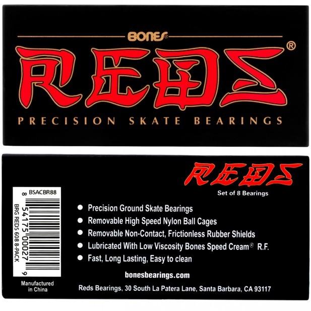 f69ce4373b832 Rolamento Skate Red Bones Importado Original - Gamboa Surf Skate