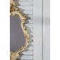Espelho Vitoriano, dourado