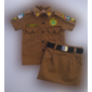 Farda Panamá Infantil Feminina - Saia  (PMPR)